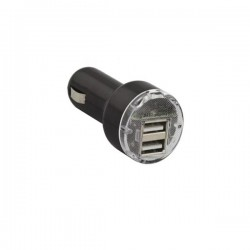 Universal 2 USB Port Car Charger 5V/2.1A